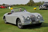 1958 Jaguar XK150S Roadster, Jaguar Corporate Award, owner: Bill Lightfoot, Vienna, VA (9331)