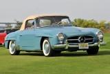 1956 Mercedes-Benz 190 SL Roadster, owner: Claire Wegner, East Hanover, NJ (9361)