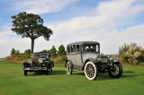 1928 Isotta Fraschini 8A SS Boattail Convertible Coupe, Best in Show, and 1914 Locomobile 38 Berline, People's Choice (9390)
