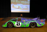 PCA-CHS 2016 Tour No. 5 -- Demo of Porsche 917 & Other Race Cars at Simeone Museum, July 9