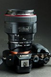 Canon 85mm f/1.2 IIThis lens shares the title of King of Bokeh with the 135STF!