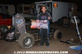 9-5-13 Silver Dollar Speedway: BCRA/USAC Midgets - USAC Classic Sprints