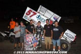 9-8-13 Antioch Speedway: World of Outlaws