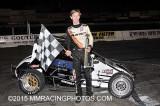 11-14-15 Stockton 99 Speedway: BCRA Midgets - King of the Wings - NCMA - Vintage