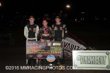 9-8-16 Silver Dollar Speedway - Non Wing Gold Cup - USAC/CRA Sprint cars - BCRA/USAC Western States Midgets
