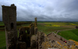 View From The Top Of Dunstanburgh Castle
