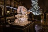 Steam Train Ice Sculpture