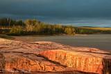 Evening Light at Lake Superior