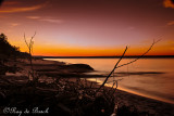 Sunset at Jackfish Bay