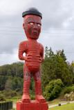 at a Maori Village