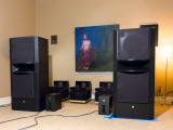 Listening Room 2 Big Horns + SET + Vinyl in Small Space