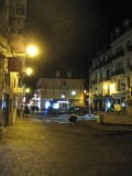 Le centre d'Aix-les-Bains ne manque pas de charme la nuit