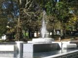 La fontaine Mohammed V commémorant les négociations pour l'indépendance du Maroc ayant eu lieu à Aix-les-Bains en 1955