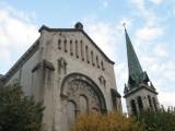 L'église Notre-Dame d'inspiration byzantine date de la fin du XIXème siècle