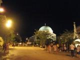 La Mosquée de Gázi Kászim pacha, un des souvenirs de l'époque ottomane, est aujourd'hui une église