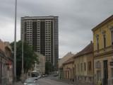 Lorsqu'on quitte le centre de Pécs, c'est moins reluisant