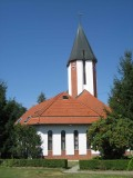 L'église catholique de Harkány où nous avons donné un concert