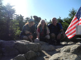Presidential Traverse!  8/17/2013