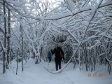 North Yarmouth Snowshoe 1/1/14