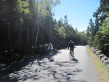 Acadia biking Loop road 9-26-15
