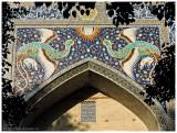 Nadir Divan-begi Madrasah - entrance portal