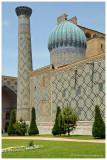 Sher-Dor Madrasah sideview