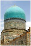 dome of Tilya-Kori Madrasah (1646–1660)