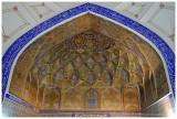 Bolo-Hauz Mosque - mihrab detail