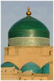dome of Pakhlavan Mahmoud mausoleum