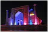 Sher-Dor Madrasah  (light show at Registan Square)