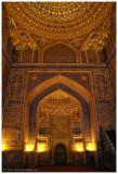 mihrab of Tilya-Kori Madrasah