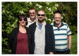 Sharon, Me, Roger & Jon