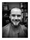 Dan's head shave