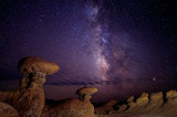 Goblin Valley by Night