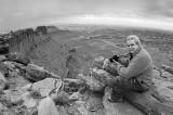 Jim on the rim - Panorama Point