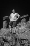 Jim Gray at balancing rocks