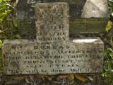 Grave of Dorcas Logan, died 20 Aug 1898