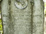 Grave of Elizabeth Wingate Fletcher, died 7 Sep 1864