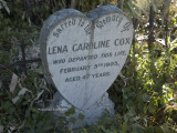 Grave of Lena Caroline Cox, died 5th February 1905