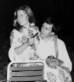 Hervé et Renée le jour de leur mariage