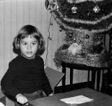 Noël 1976 au Laü avec Olivier