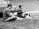 Zébro et sa soeur Anne rencontrés par hasard en 1973 dans le pays cathare