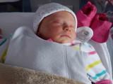 Maïka à sa naissance