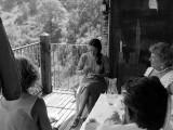 Visite oncle-tante du Canada le 7 Juillet 1984