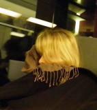 Dans le train...