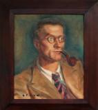 Portrait de Robert Ollivier (Huile, par A. Peti Jean)