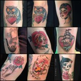 Some tattoos by Maik Gnass (but not THE Tattoo, yet)