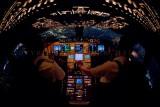 Flightdeck 747-8, descending into Chicago O'Hare