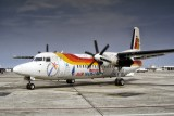 Fokker 50. Flying for Air Nostrum, Iberia Regional