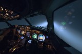 Flying through the storms - 737 inflight